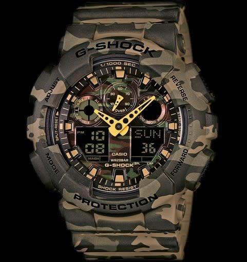 Horloge G-shock GA-100CM-5AER