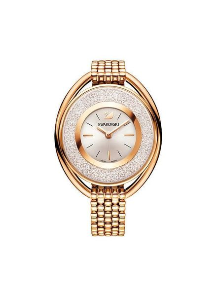 Swarovski Horloge Crystalline Oval - rosegoud 5200341
