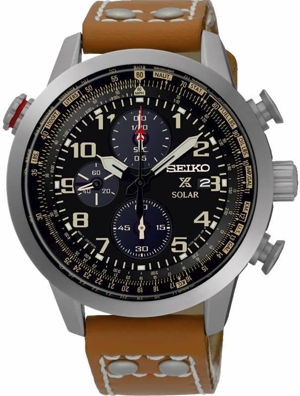 Seiko Seiko horloge Prospex Solar Chrono SSC421P1