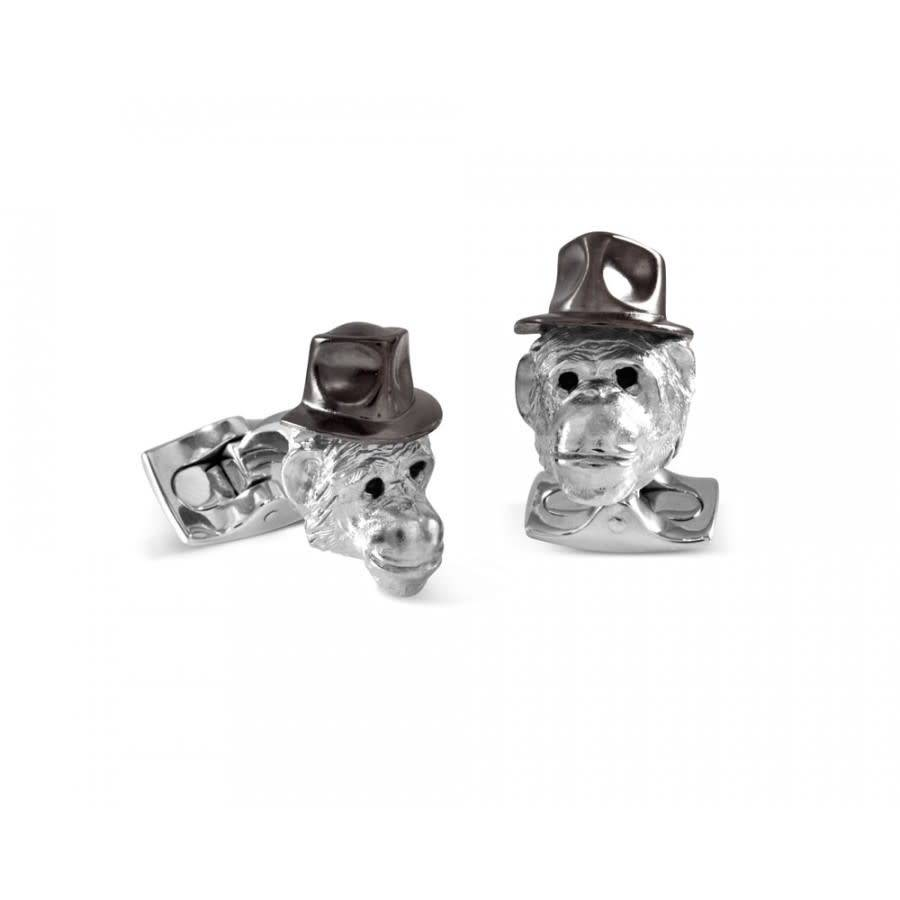 Deakin & Francis Manchetknoop Chimpansee BMC0053C0015