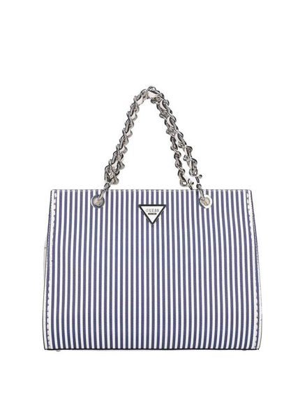 Guess tas Sawyer blue stripe