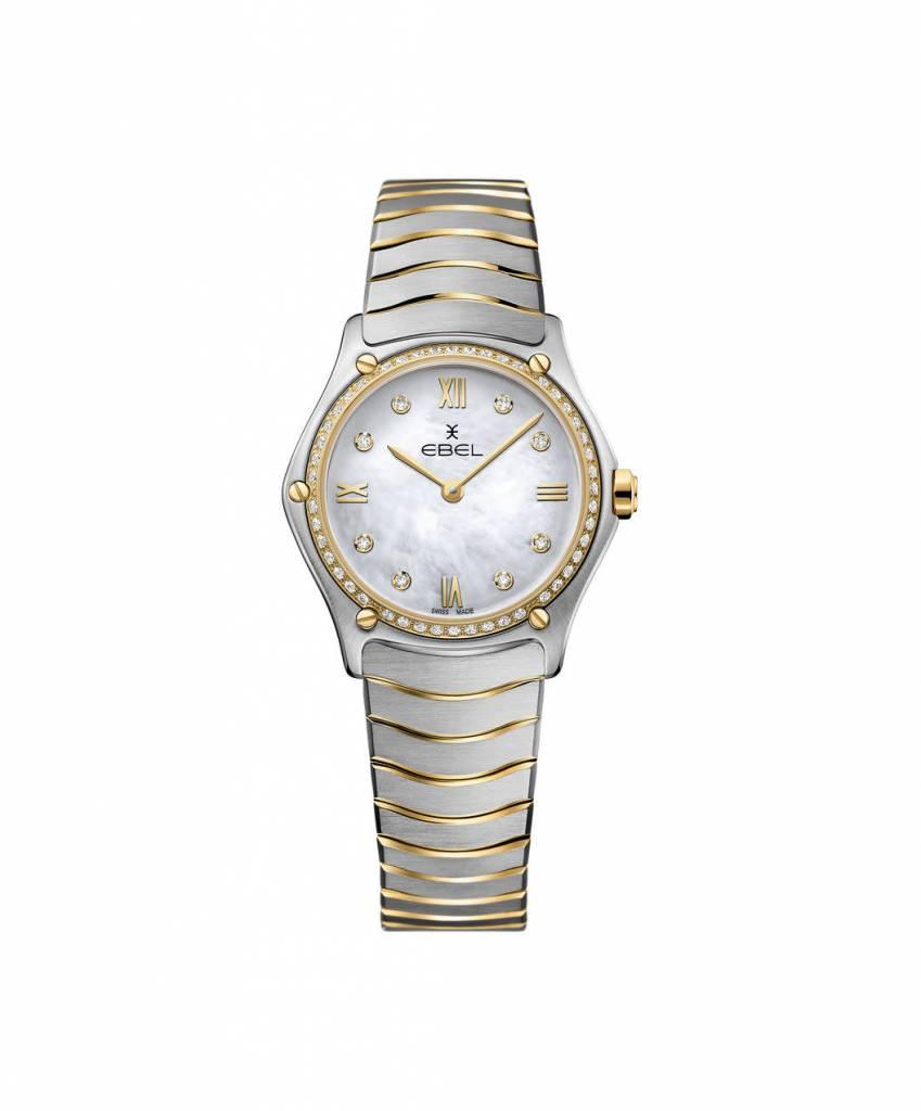 Ebel Ebel  horloge classic wave dames 1216390Ebel horloge Wave Sport Classic 1216390