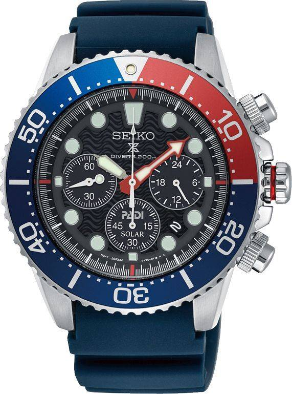 696ee29eeaabda Seiko horloge Prospex Padi Solar - SSC663P1 - Roemer juwelier
