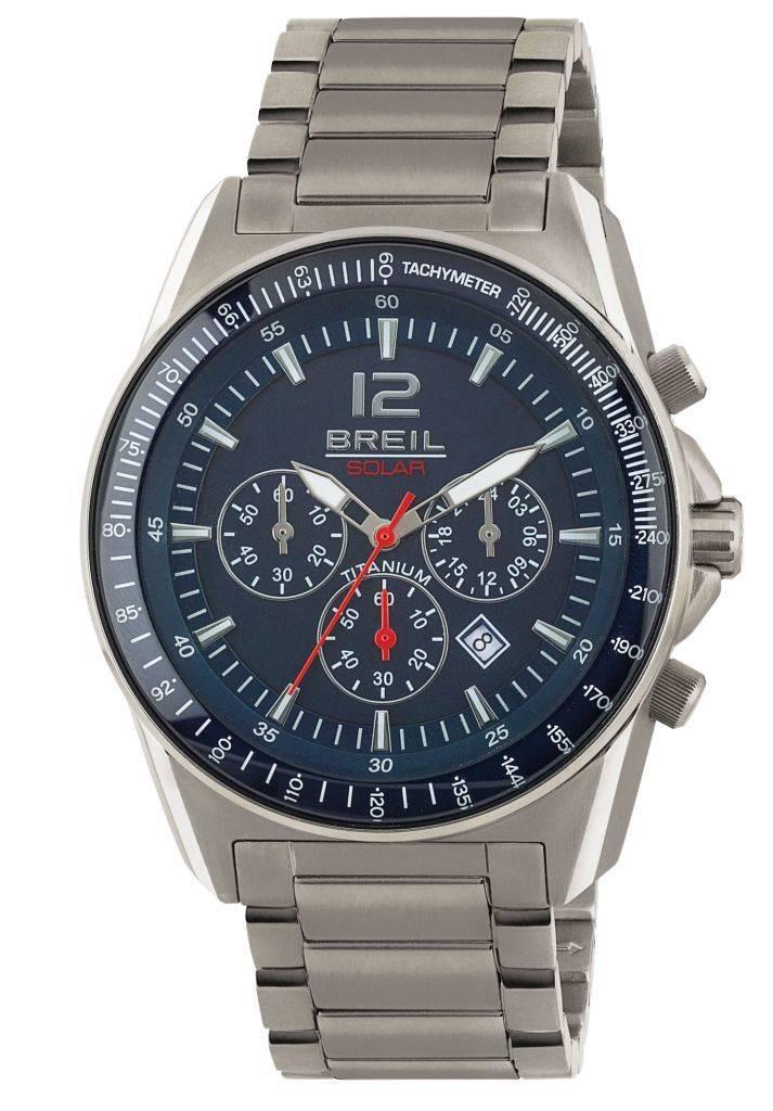 Breil Breil horloge titanium solar - TW1659