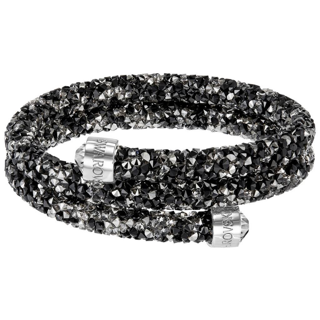Swarovski 5255909 Crystaldust armband Double Dark