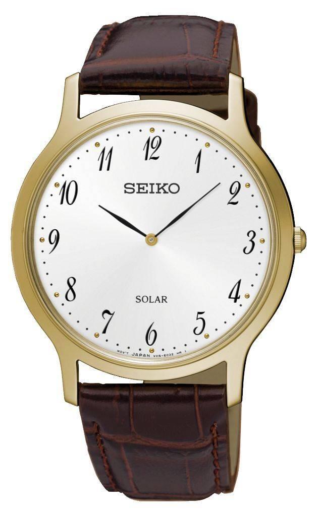 Seiko Seiko heren horloge Premier - solar - SUP860P1