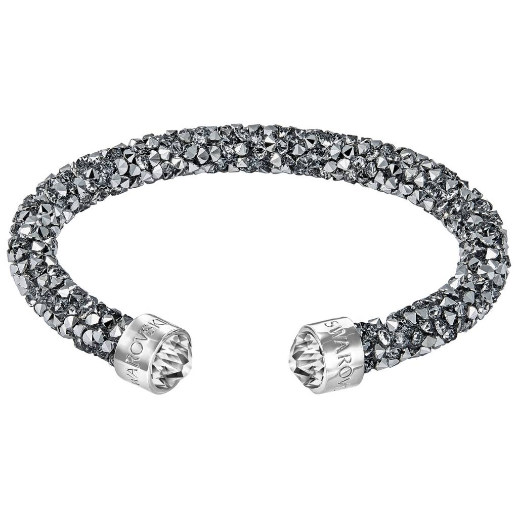 Swarovski 5250071 Crystaldust armband antraciet