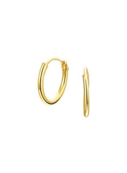 Tomylo oorringen goud 17 mm.