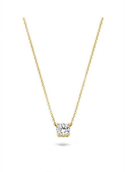 Blush gouden ketting met zirconia 3049YZI