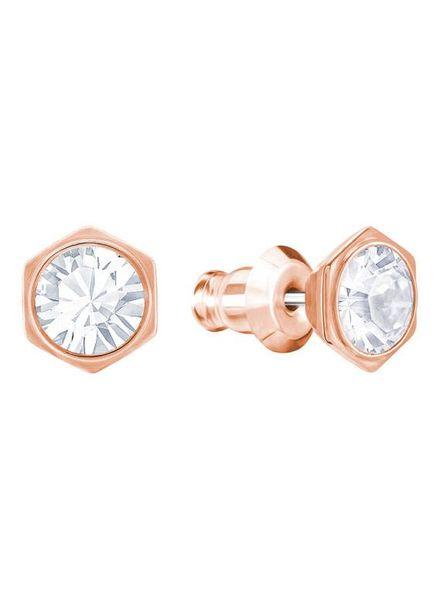 Swarovski oorstekers Hexa Rose - 5371199