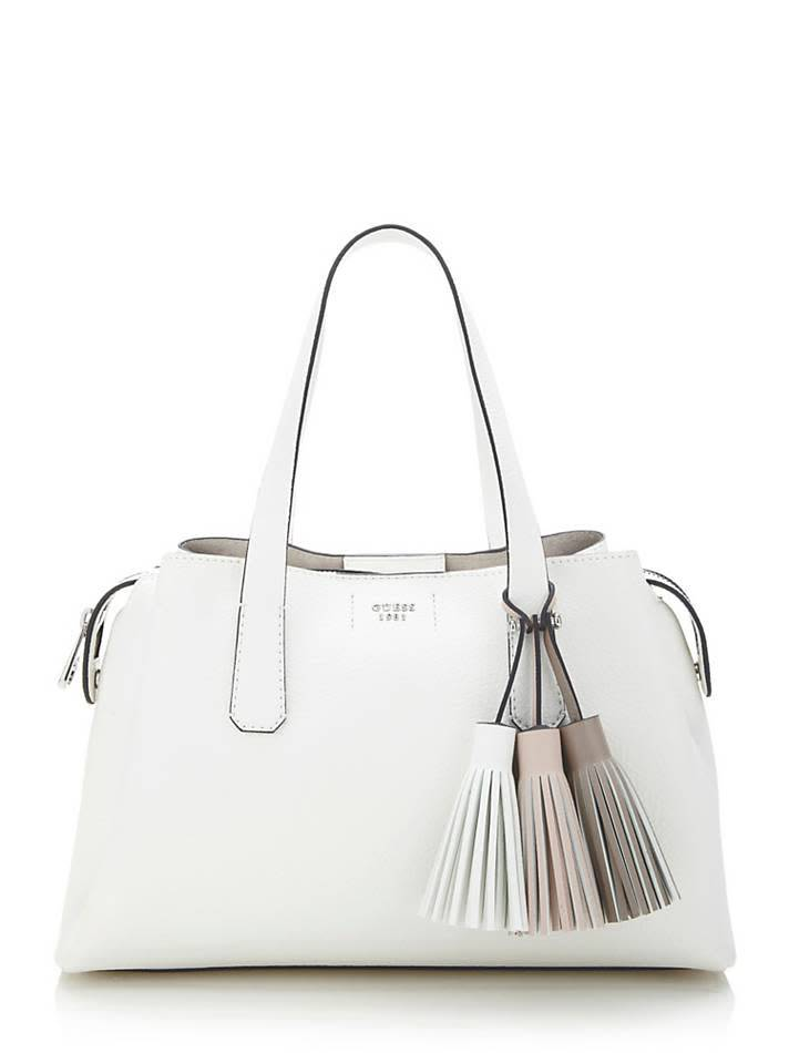 Guess Guess tas Trudy Girlfriend Satchel White HWVY6954060WHI