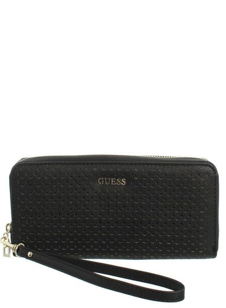 Guess portemonnee Kamryn Large Zip Around black SWPR6691460BLA