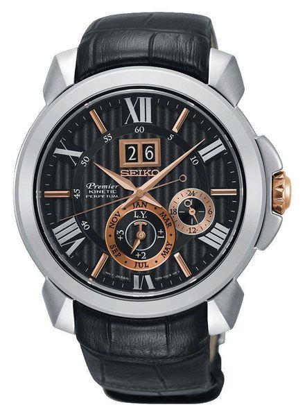 Seiko horloge Premier Kinetic SNP149P2