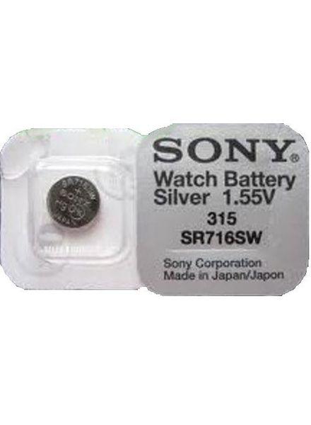 Sony batterij 315