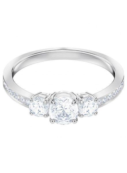 Swarovski ring    Attract Trilogy Round 5448901 maat 52