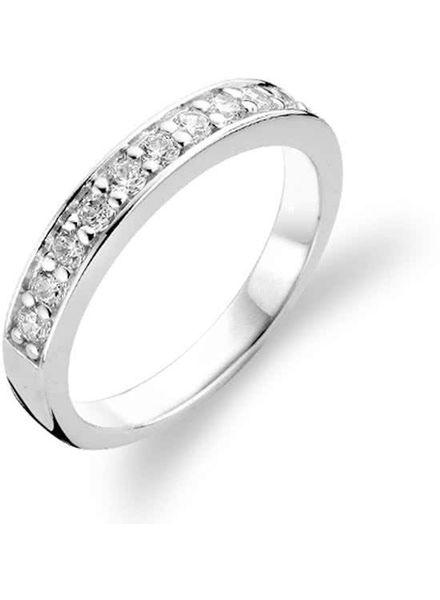 Ti Sento zilveren ring met zirkonia 1151ZI/52