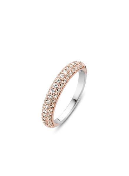Ti Sento ring met zirconia's 12105ZR/54