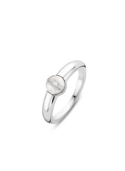 Ti Sento ring met zirconia's 12111MW/54