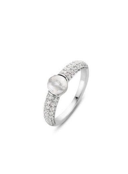 Ti Sento ring met zirconia's 12112MW/54