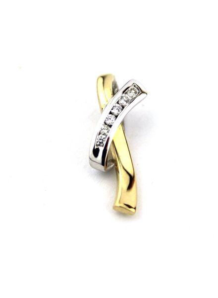 Tomylo Bicolor hanger met diamant