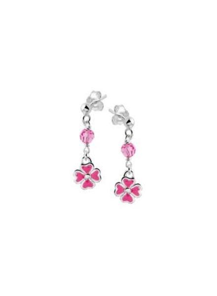 Tomylo Oorhangers Bloem roze 1019618