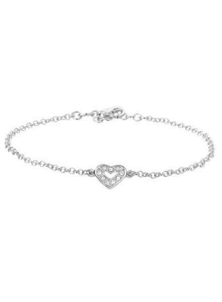 Tomylo zilveren armband met hartje