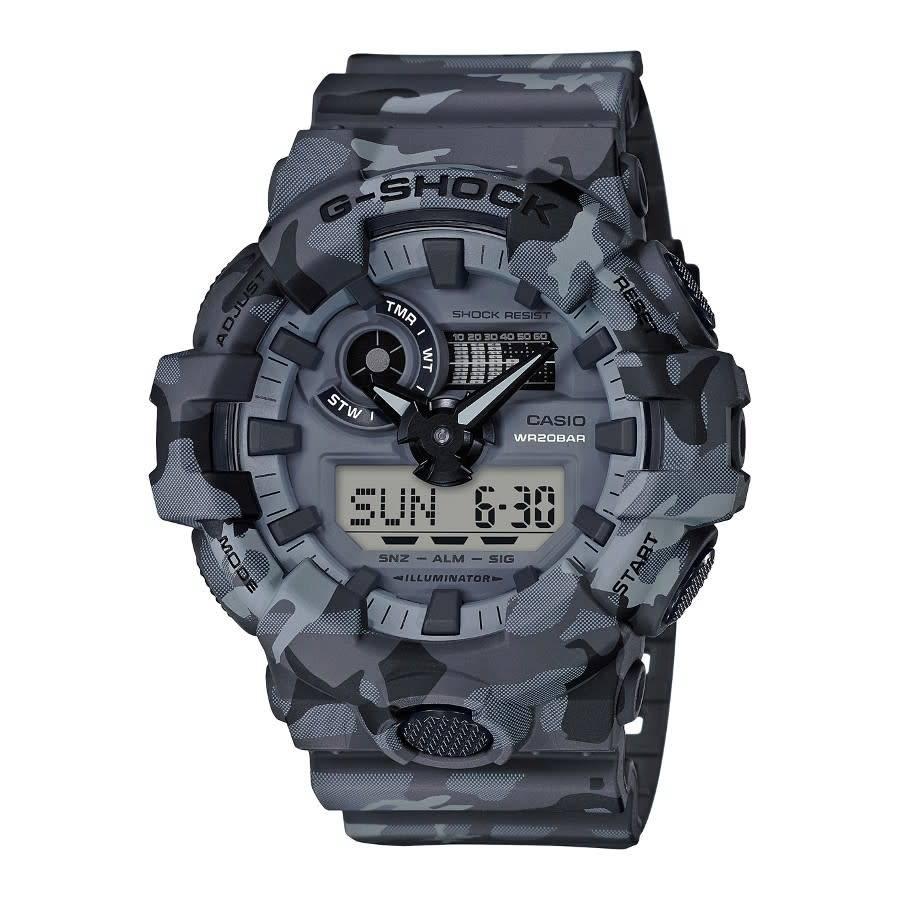 horloge G-Shock Camouflage GA-700CM-8AER