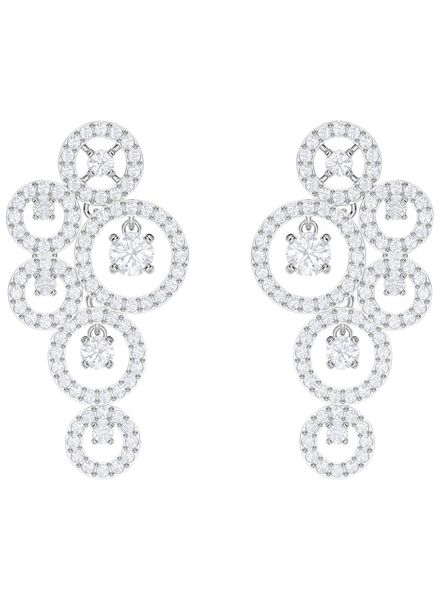 Swarovski Swarovski Oorstekers Creativity Pierced Earrings, White, Rhodium plating 5414713