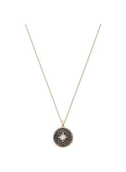 Swarovski Swarovski hanger Locket Pendant, Small, Black, Rose gold plating 5421295