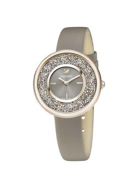 Swarovski Swarovski Crystalline Pure Watch, Leather strap, Champagne gold tone 5416704