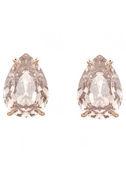 Swarovski Swarovski Mix Pierced Earrings, Pink, Rose gold plating 5427951