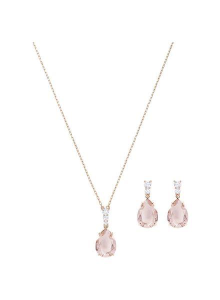 Swarovski Swarovski Vintage Set, Pink, Rose gold plating 5414695