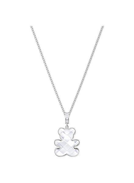 Swarovski Swarovski Teddy Pendant, White, Rhodium plating 5410280