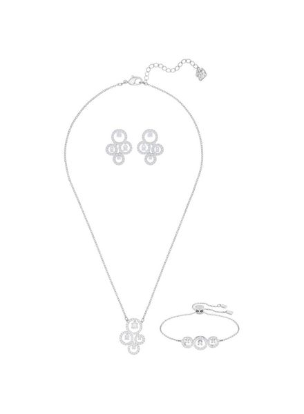 Swarovski Swarovski Creativity Set, White, Rhodium plating 5431650