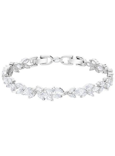 Swarovski Swarovski Louison Bracelet, White, Rhodium plating 5419244