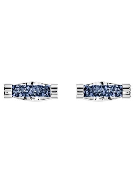 Swarovski Swarovski Crystaldust Cuff Links, Blue, Stainless steel 5427116