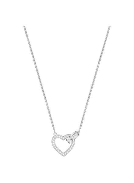 Swarovski Swarovski ketting hart zilverkleurig 5380703