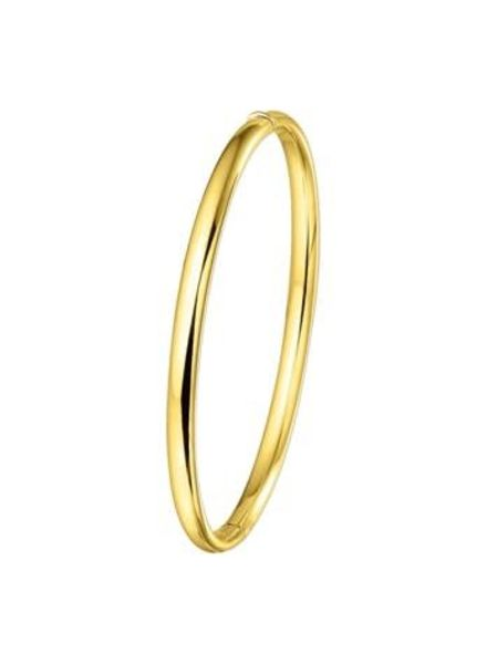 Tomylo Gouden slavenarmband  4mm