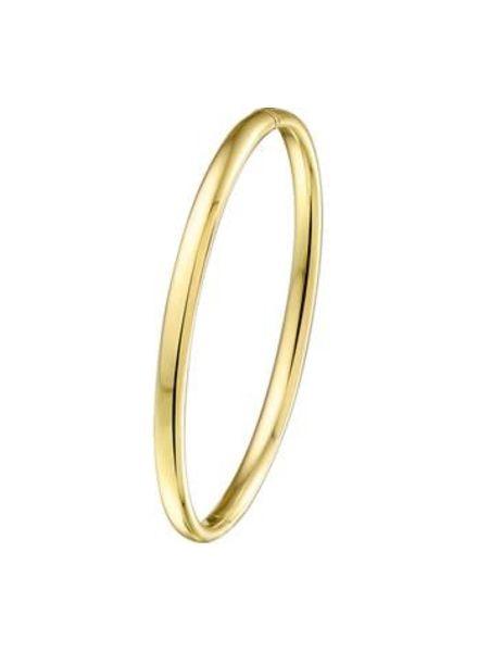 Tomylo Gouden slavenarmband met zilveren Kern 5000140