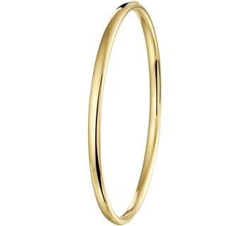 Tomylo Gouden slavenarmband met zilveren Kern 4 mm 5000141