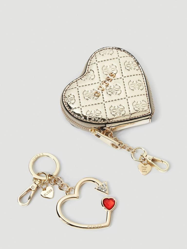 Guess Guess Giftbox dubbele sleutelhanger RWNO15P8401PLA