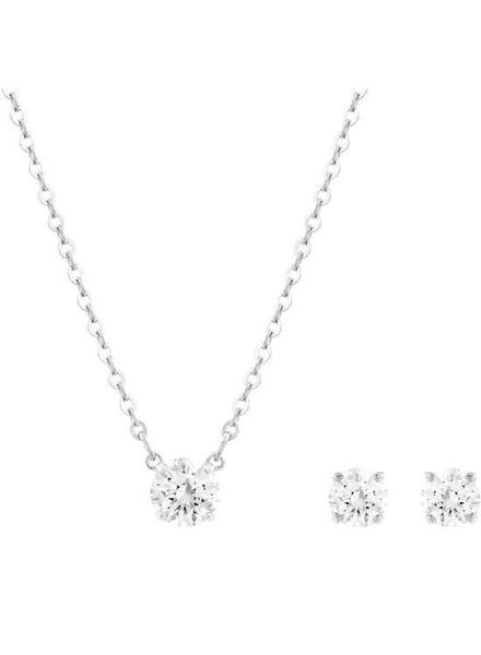 Swarovski Swarovski set ketting oorknoppen Attract 5113468