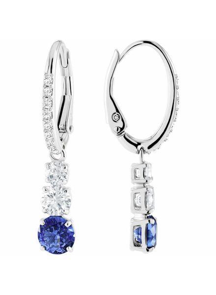 Swarovski Swarovski oorbellen Attract blauw 5416154
