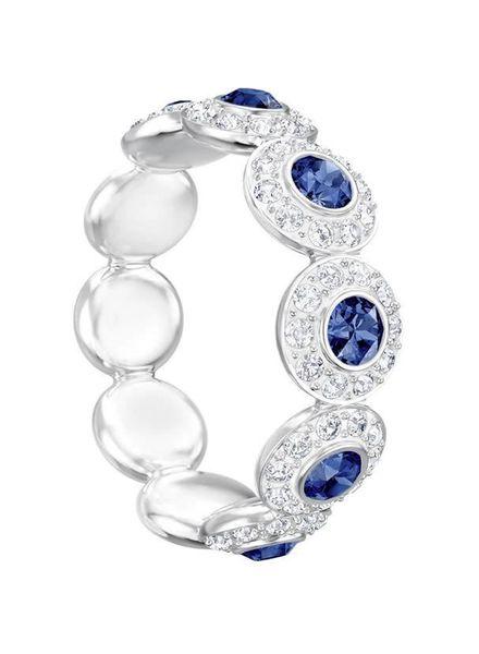 Swarovski Swarovski ring Angelic blauw 5424993