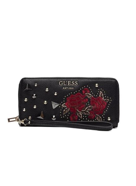 Guess Guess portemonnee Vikky large zip around SWEF6995460BML