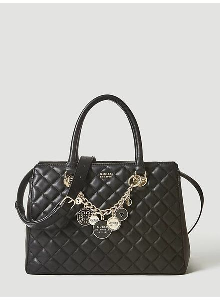 Guess Guess tas Victoria Luxery Satchel HWVG7107060BLA