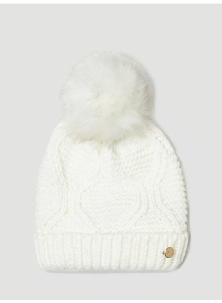 Guess Guess muts Pompon creme AW6801WOL01OFF