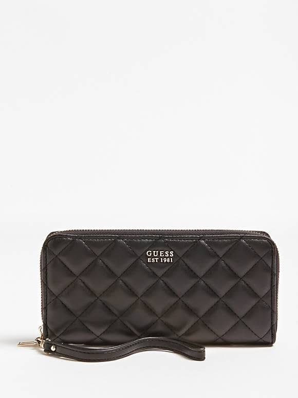 Guess Guess Portemonnee Victoria large Zip Around