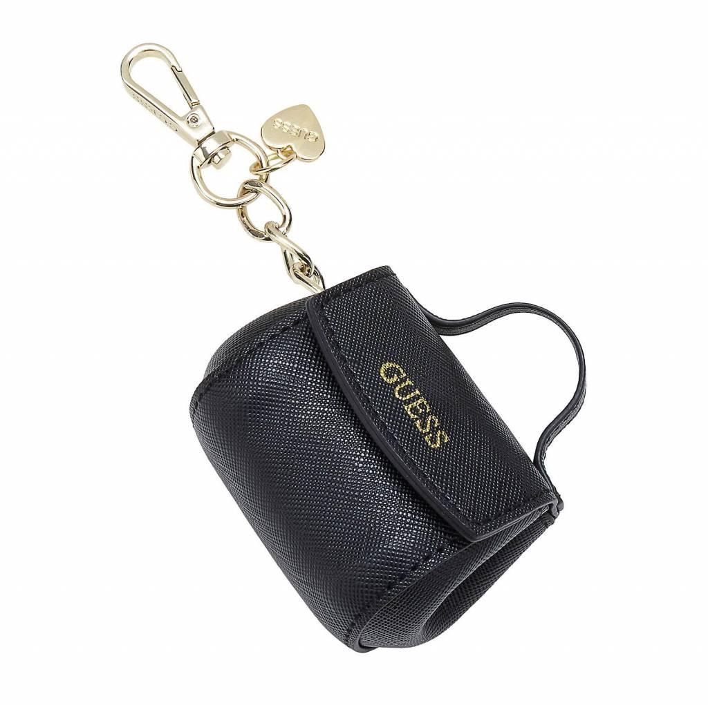 Guess sleutelhanger mini bag black