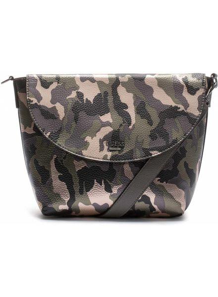 Guess Tas Bobbi Inside Out Crossbody Camouflage - HWMC6422210CAG